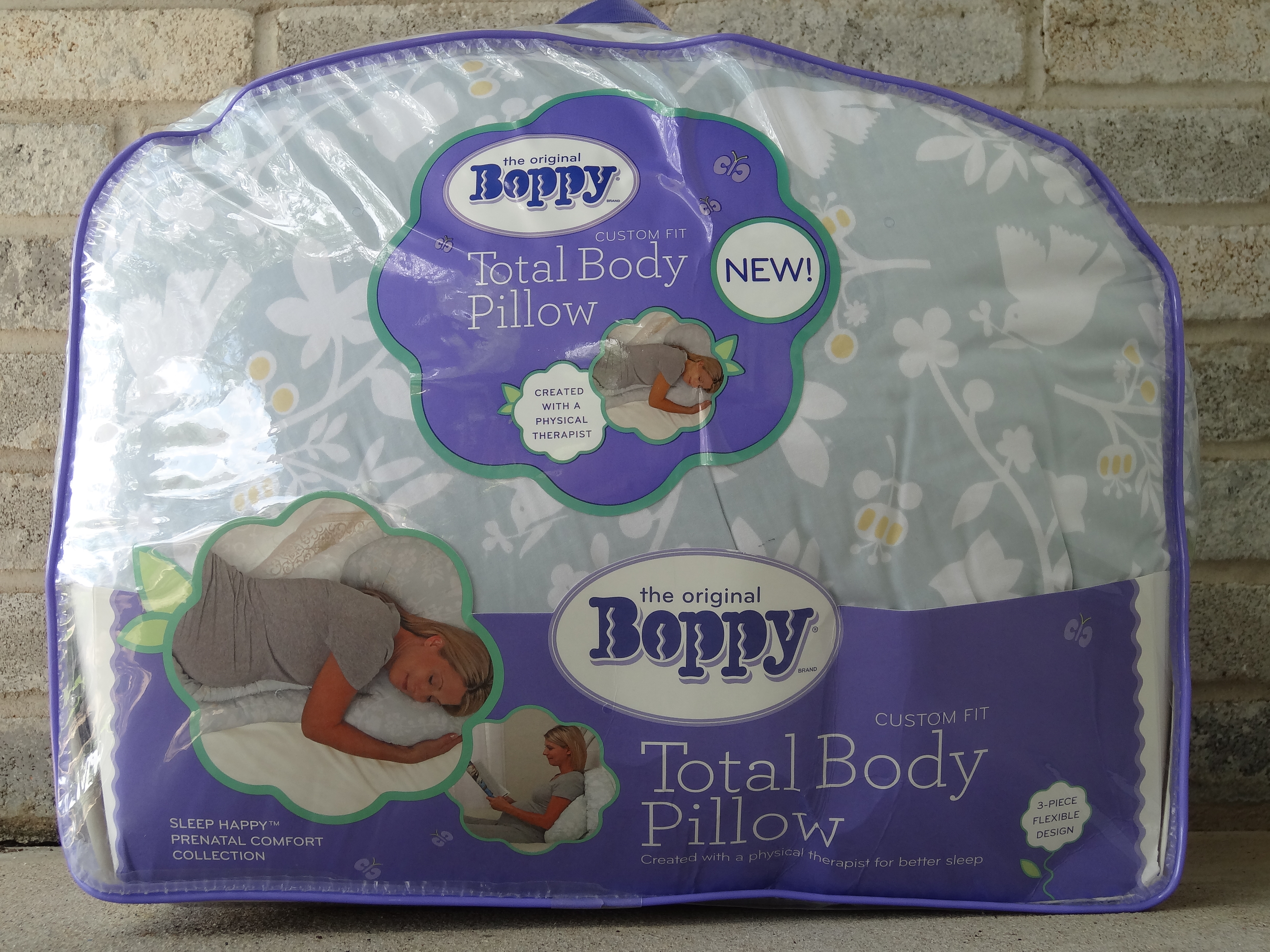 New Custom Fit Total Body Pillow By Boppy Lotus Be Barefoot