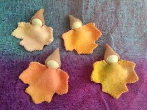 autumn leaf babies